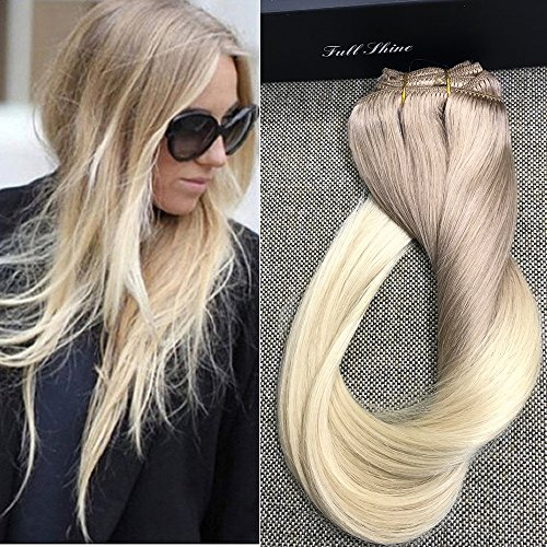 Best hair extensions for short hair sandra downie the hair extensions are plenty to make a full head and are made with 100 remy natural human hair the hair is soft silky and the extensions are easy to solutioingenieria Image collections