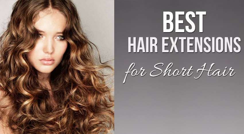 Best Hair Extensions For Short Hair Sandra Downie