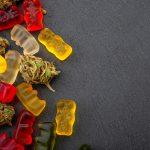 CBD Gummies on the table
