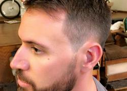 Military Haircut Fade